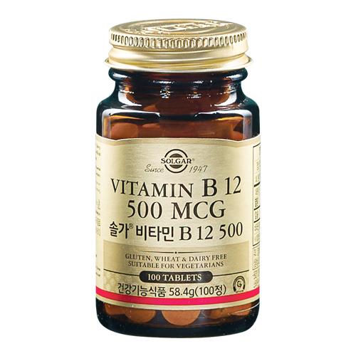 [솔가] 비타민 B12 500 [100T]