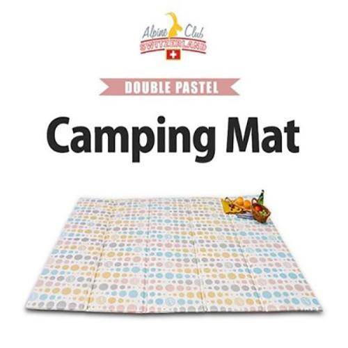 [스위스 알파인클럽] 더블 파스텔 캠핑매트