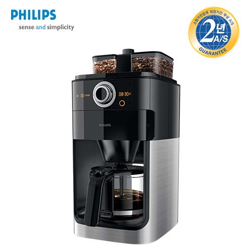 [필립스] Grind&Brew 커피메이커 HD7762