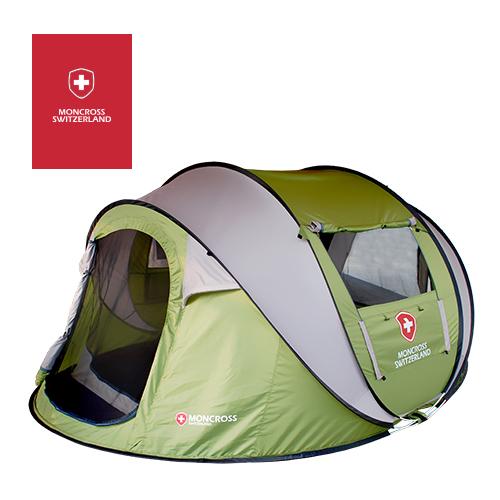 [몽크로스] 원터치 텐트 4-5인용 (색상택일) PMC-1003