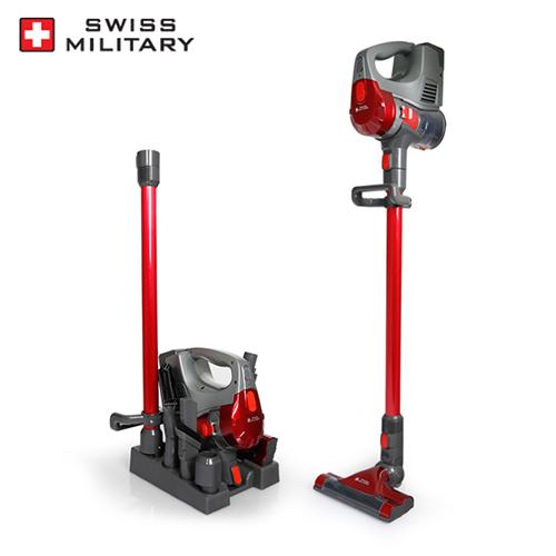 [스위스 밀리터리] 충전식 무선 청소기 SMA-V22