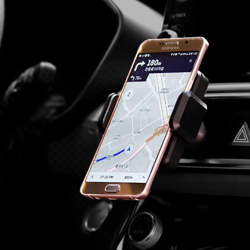 [프리톡] 스마트폰 차량용 무선 충전 자동거치대(급속)