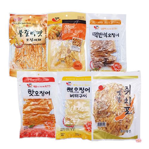 심심풀이 오징어 선물세트1 선물박스 포장배송