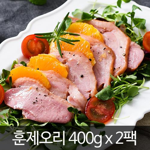 [청산식품] 청산별덕 훈제오리 400g× 2