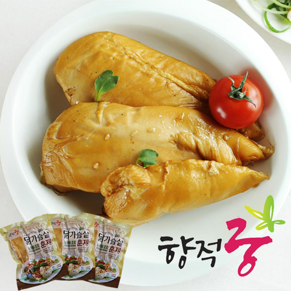 [태현푸드] 향적궁 닭가슴살 훈제 200g