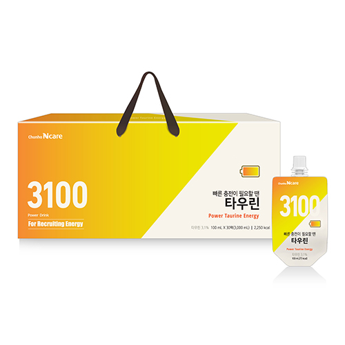 [천호식품] 빠른 충전이 필요한땐 타우린 (100mL*30개입)