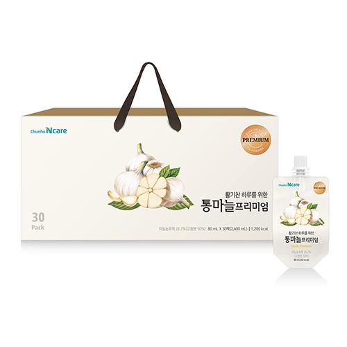 [천호식품] 활기찬 하루를 위한 통마늘 프리미엄 (80mL*30개입)