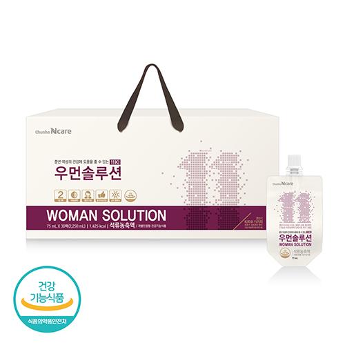 [천호식품] 중년 여성의 건강에 도움 우먼솔루션 (75mL*30개입)
