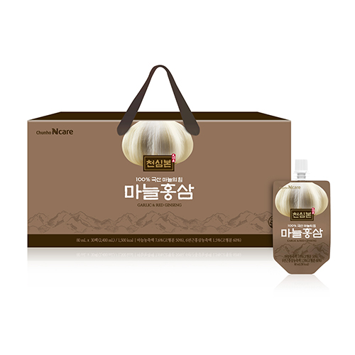 [천호식품] 천심본 마늘홍삼 (80mL*30개입)