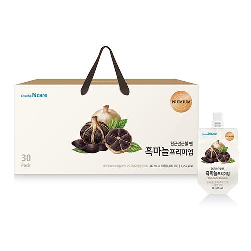 [천호식품] 천근만근할 땐 흑마늘 프리미엄 (80mL*30개입)