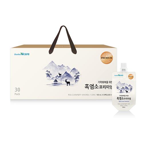 [천호식품] 기력회복을 위한 흑염소 프리미엄 (100mL*30개입)