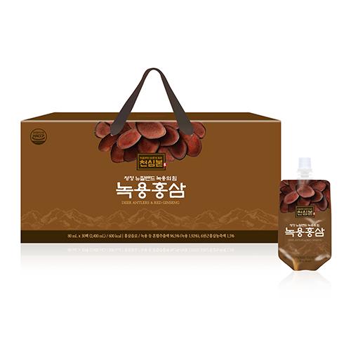 [천호식품] 천심본 녹용홍삼 (80mL*30개입)