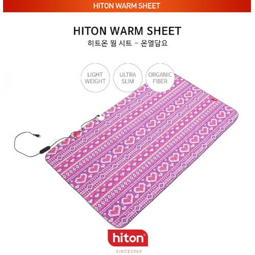 [뉴지로] 히트온 온열 무릎담요(LHT-505CT) /물세탁 가능