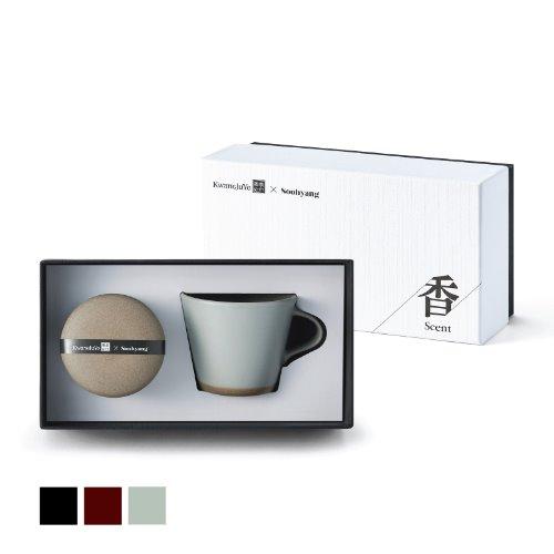 [광주요]단지시리즈 캔들+커피잔세트