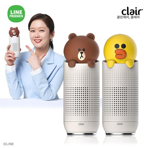 [라인프렌즈] 클레어 공기청정기