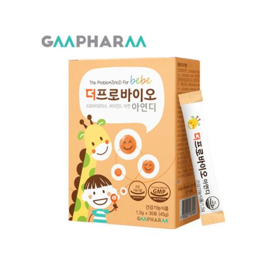 [지엠팜] 더프로 바이오 아연디 30포