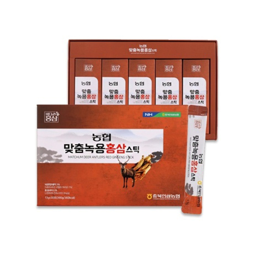 [농협] 맞춤녹용홍삼(스틱) 13g x 30포