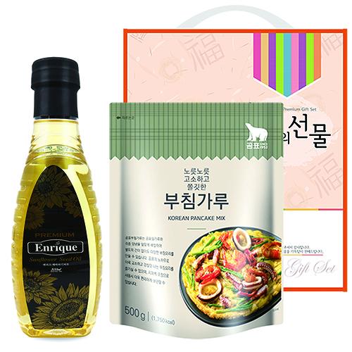 소중한마음 부침세트 2p (엔해바,곰부)