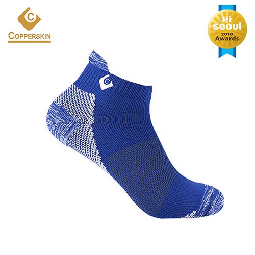 남성 골프양말 스니커즈 하이백 양말-BLUE