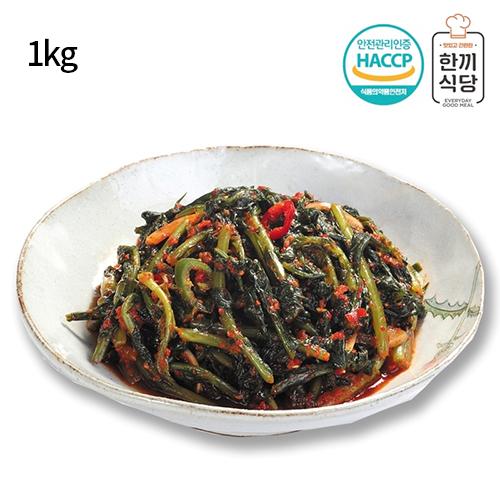 [한끼식당] 우리 농산물 100% 열무김치 1kg