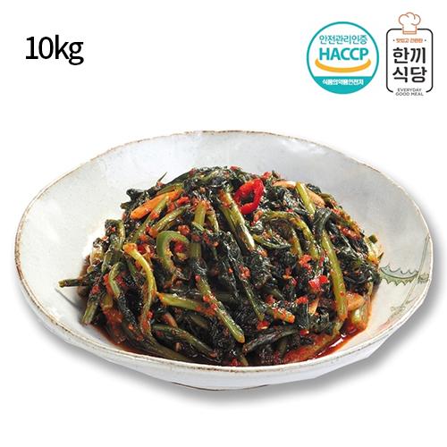[한끼식당] 우리 농산물 100% 열무김치 10kg