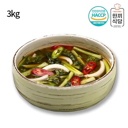 [한끼식당] 우리 농산물 100% 열무물김치 3kg