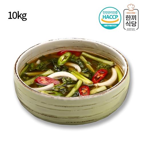 [한끼식당] 우리 농산물 100% 열무물김치 10kg