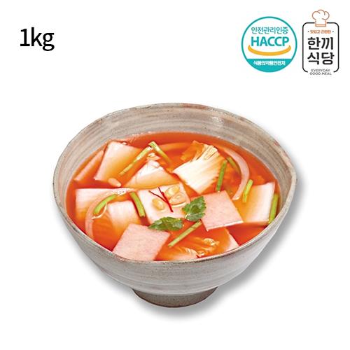 [한끼식당] 우리 농산물 100% 나박김치 1kg
