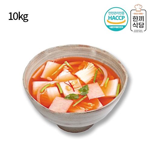 [한끼식당] 우리 농산물 100% 나박김치 10kg